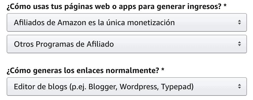 Alta web Amazon
