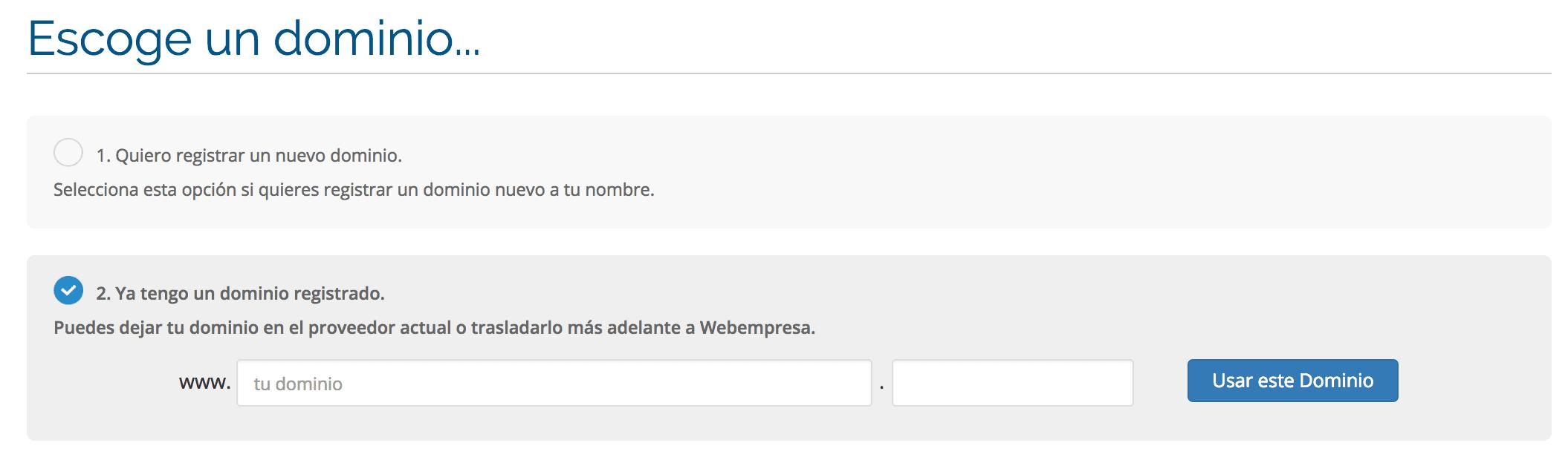Alta webempresa