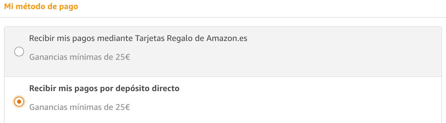 Cobros Amazon