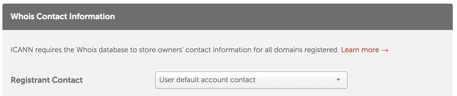 Contacto registro