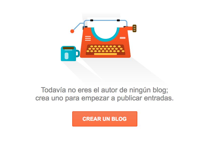 crear un blog blogger