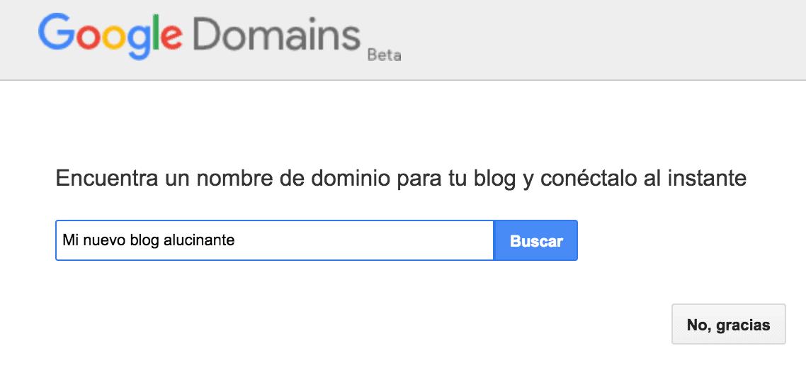 nombre dominio