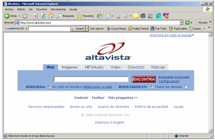 Buscador Altavista
