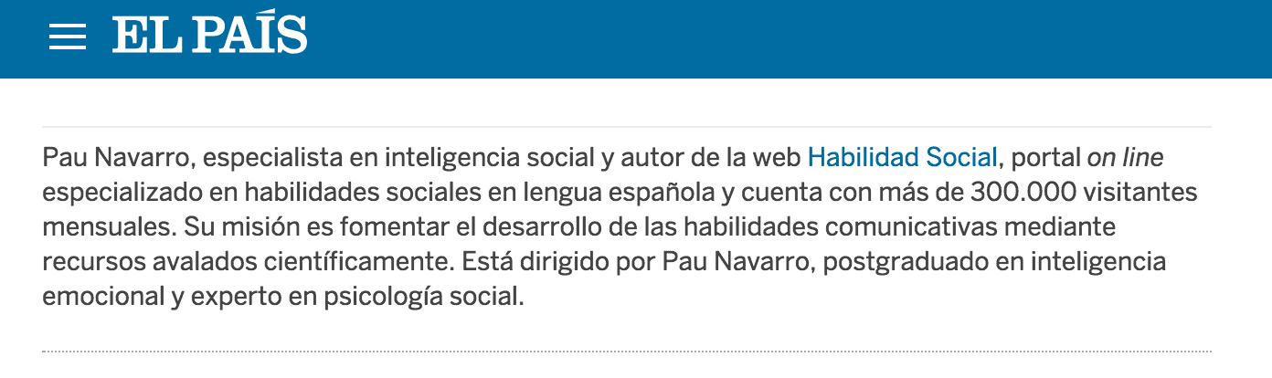 Enlace El País